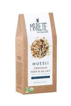 MUESLI CHOCOLAT NOIR & AU LAIT - MARLETTE
