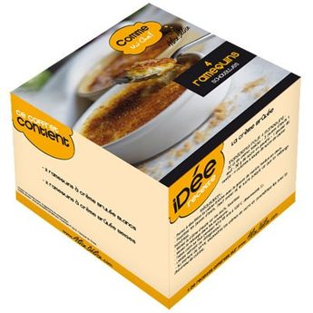 COFFRET 4 CASSOLETTES 10 CM - ALICE DELICE