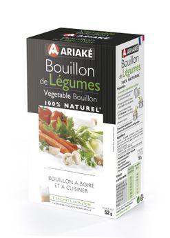BOUILLON DE LEGUMES - ARIAKE