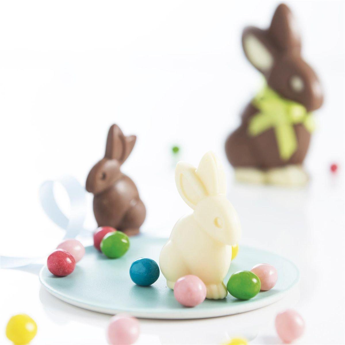MOULES CHOCOLAT LAPINS - MASTRAD