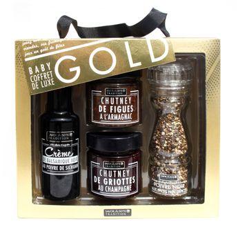 COFFRET BABY GOLD / FOIE GRAS - SAVOR ET SENS