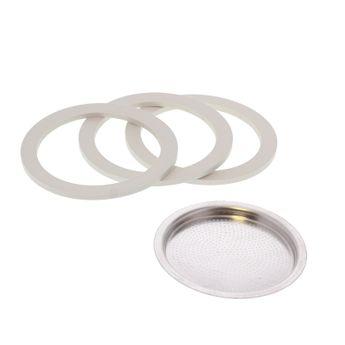 Achat en ligne Pièce de rechange : 3 joints + 1 filtre - Venus 4 tasses - Bialetti