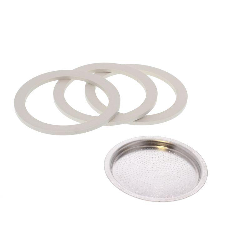 Pièce de rechange : 3 joints + 1 filtre - Venus 4 tasses - Bialetti