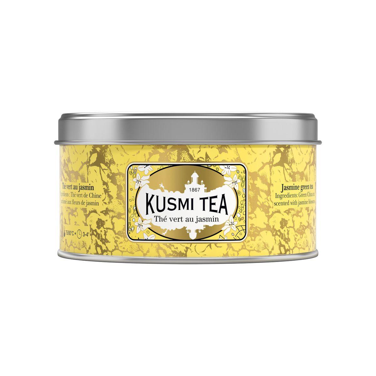 THÉ VERT JASMIN - 125G - KUSMI TEA