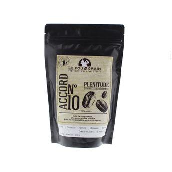 Achat en ligne Café moulu pour cafetière filtre 250gr Plénitude Accord n°10 - Le Fou du Grain