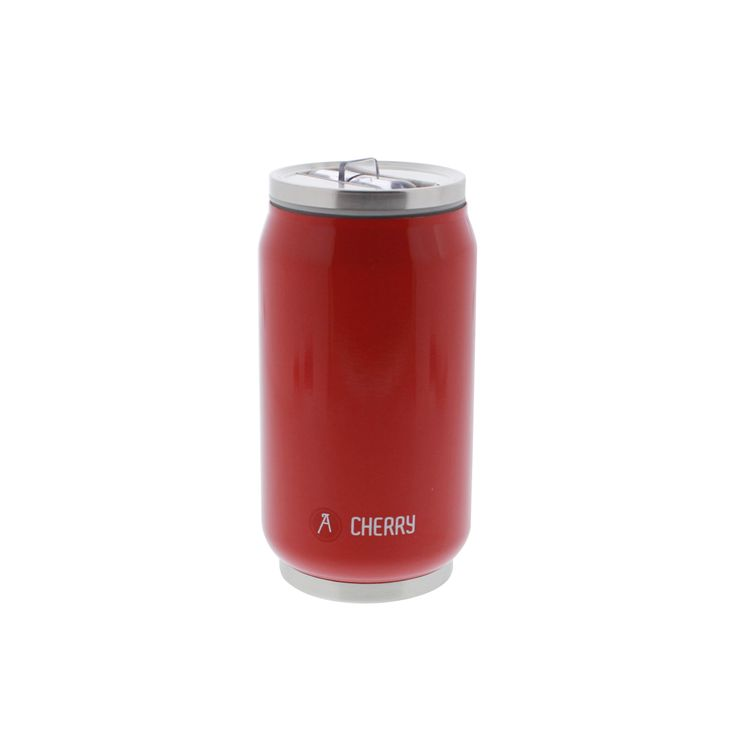 CANETTE CAN´IT ISOTHERME 280ML ROUGE BRILLANT - LES ARTISTES