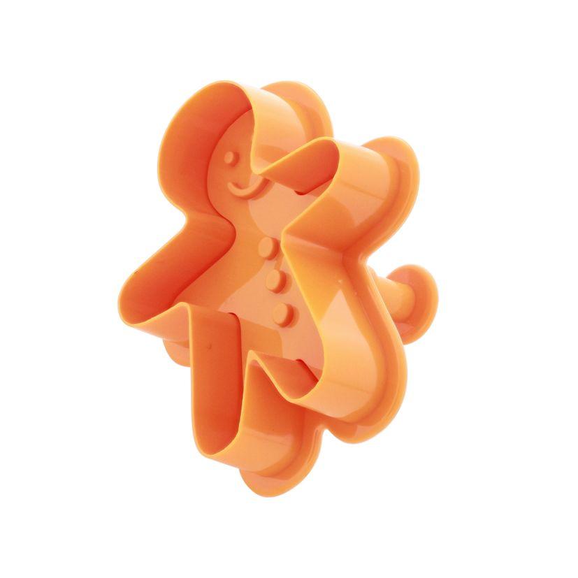 Emporte-pièce éjecteur bonhomme orange - Alice Délice