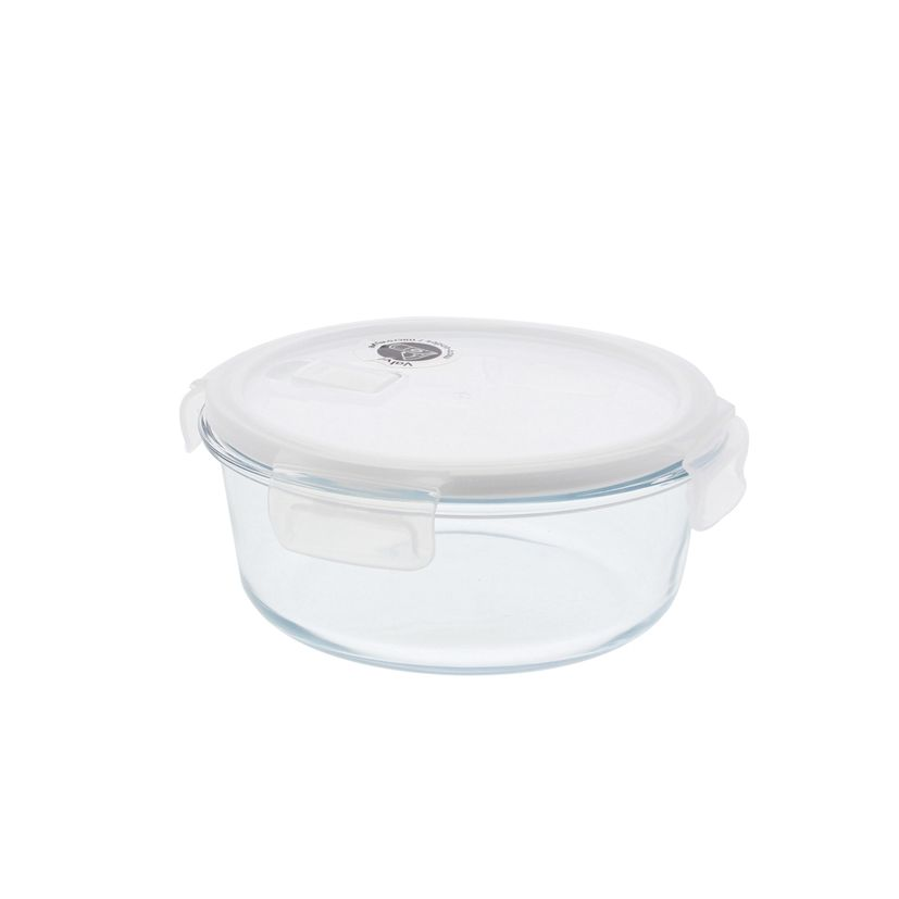 Boîte ronde en verre 950ml - Pebbly