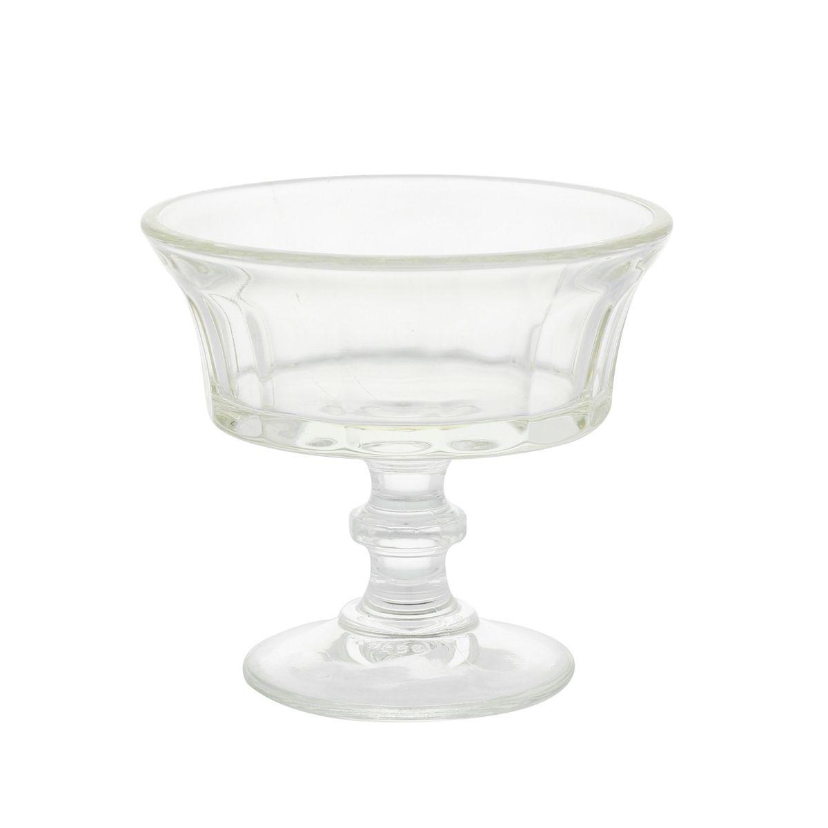 coupe a glace en verre modele champagne la rochere. Black Bedroom Furniture Sets. Home Design Ideas