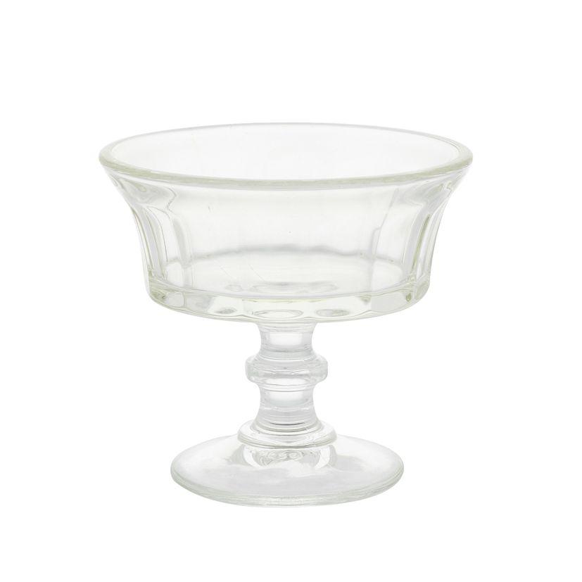 COUPE A GLACE EN VERRE MODELE CHAMPAGNE - LA ROCHERE