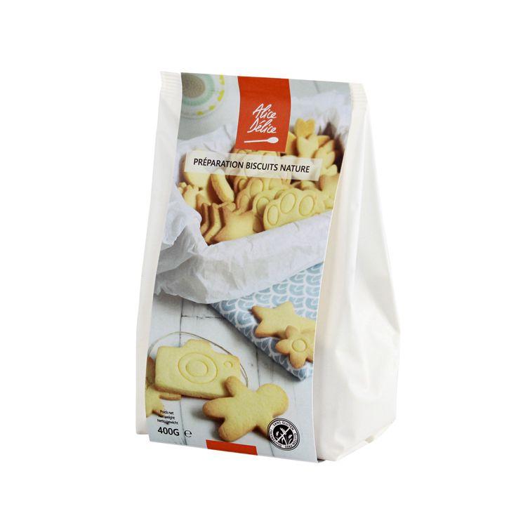 Préparation biscuit nature 400gr - Alice Délice