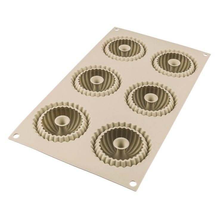 Moule silicone 3D 6 mini-raggio - Silikomart