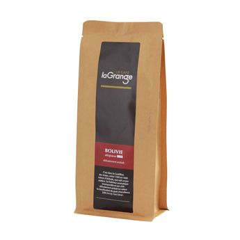 CAFE EN GRAINS BOLIVIE ALTIPLANO BIO 250GR - LAGRANGE
