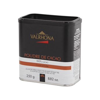 Achat en ligne Poudre de cacao 100% cacao 250gr - Valrhona