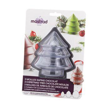 Kit 3 moules chocolat sapin - Mastrad