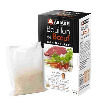 Achat en ligne Bouillon de bœuf 48gr - Ariake