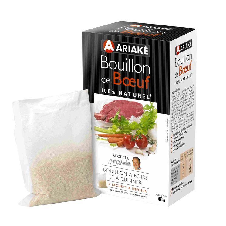 Bouillon de bœuf 48gr - Ariake