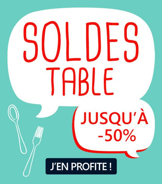 Soldes table
