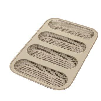 Moule mini-baguettes silicone perforé - Silikomart