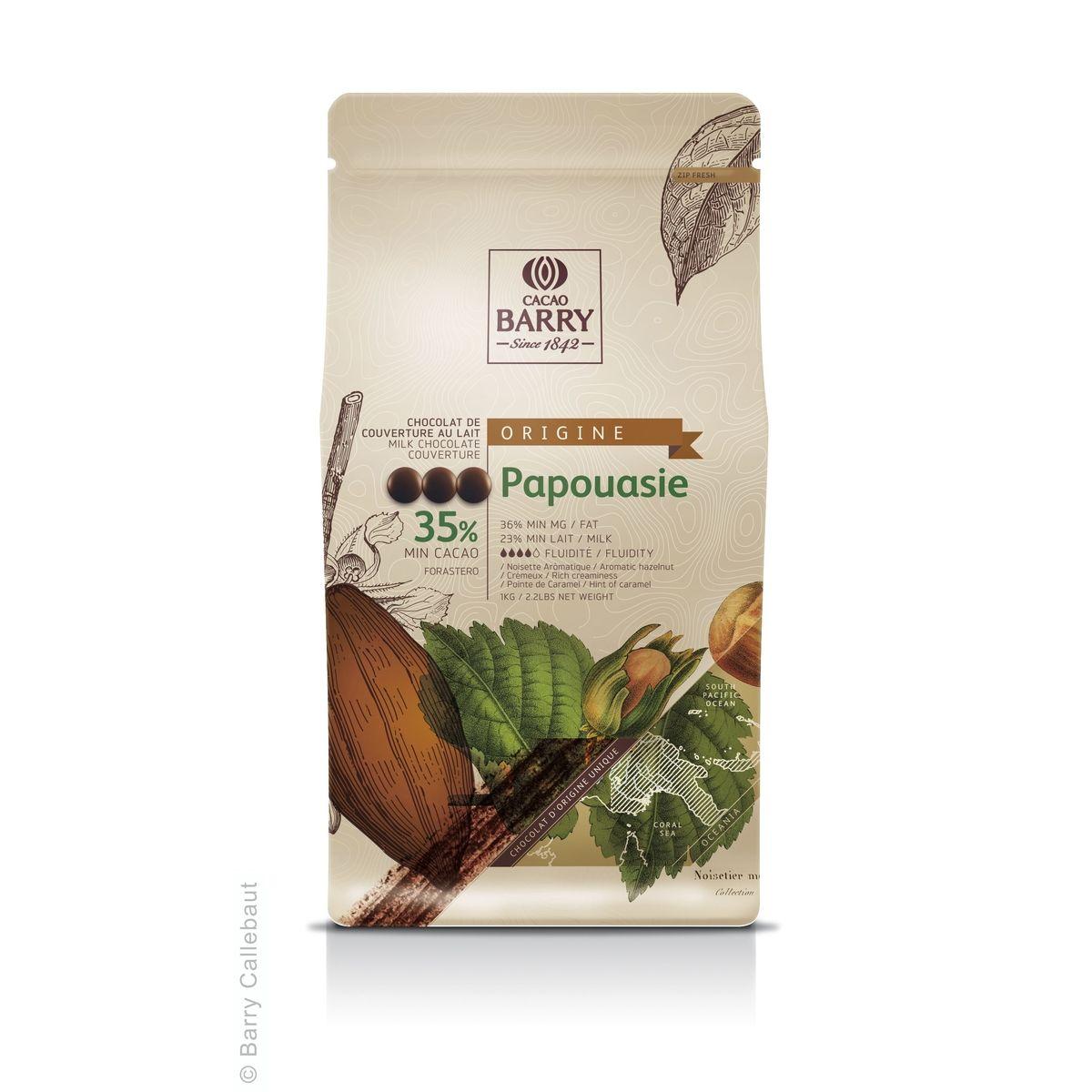 Chocolat au lait Papouasie 1kg - Barry