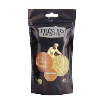 Beurre de cacao 250 gr - Trésors de Chefs