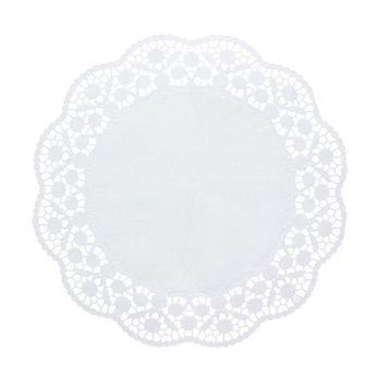 Achat en ligne 12 dentelles rondes blanches 36cm - Papstar