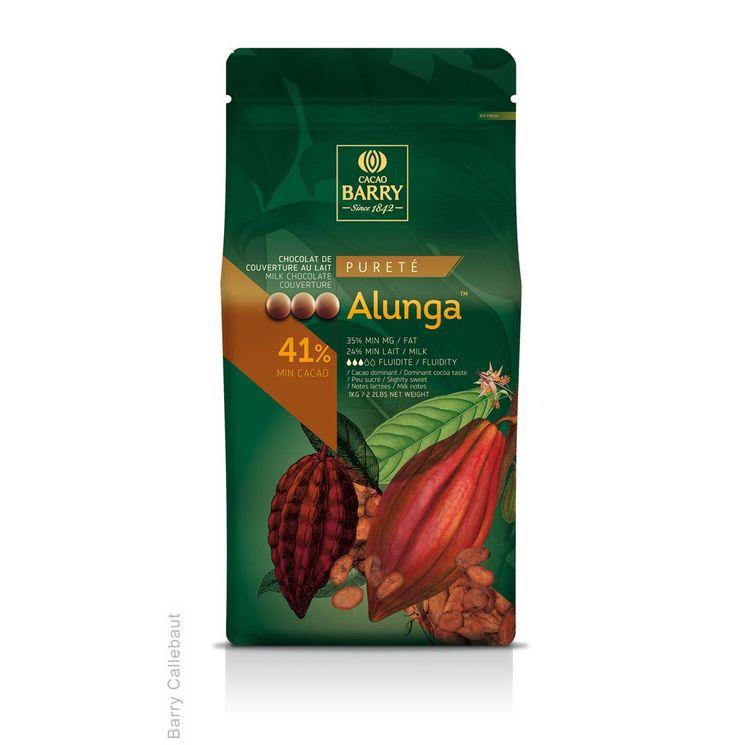 Chocolat de couverture lait pureté Alunga 1kg - Barry