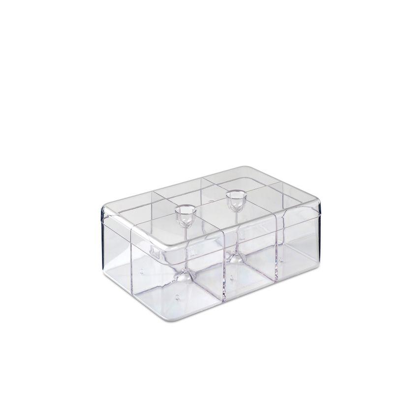 Boîte à thé transparente 20cm - Mepal