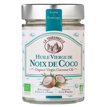 Achat en ligne Huile vierge de noix de coco bio 314ml - La Tourangelle