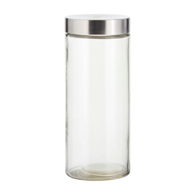 Boîte de conservation en verre avec couvercle en inox 2.1L - Zeller