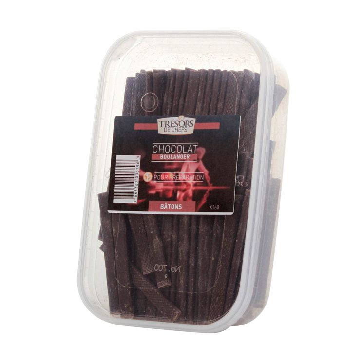 Bâtons de chocolat x 160 - Trésors de Chefs
