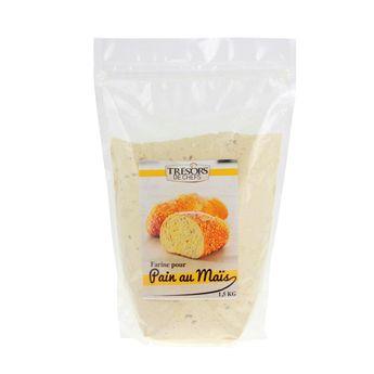 Farine pour pain au maïs 1.5kg - Trésors de Chefs