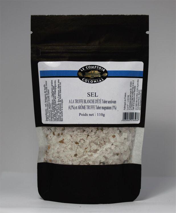 Sel sec à la truffe blanche sachet 110gr - Maom