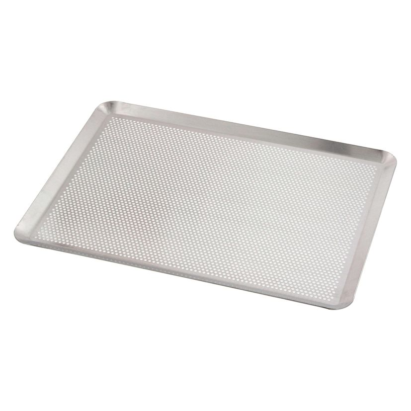 Plaque aluminium perforée 40x30 cm - Technicake