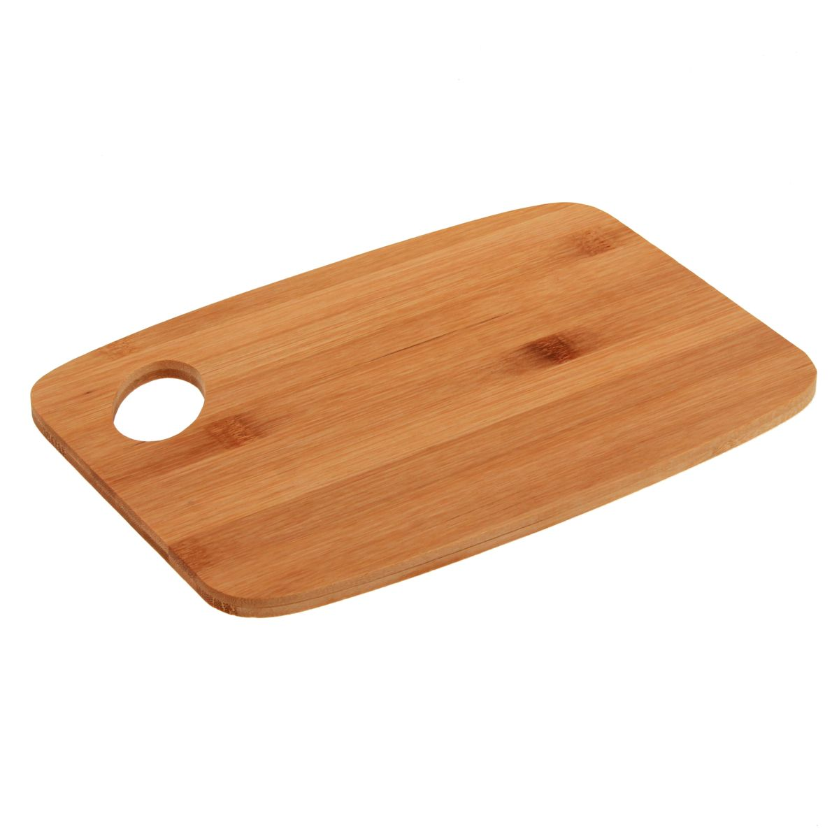 Planche bambou avec manche 26.5 x 18.5 x 1 cm - Zeller
