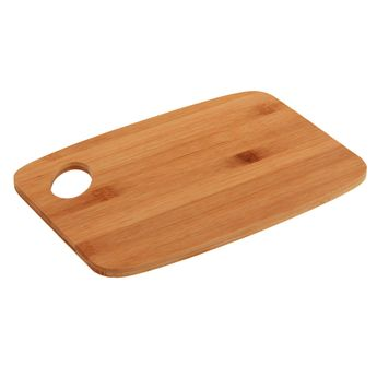 Achat en ligne Planche à découper en bambou 26.5 x 18.5 x 1 cm - Zeller