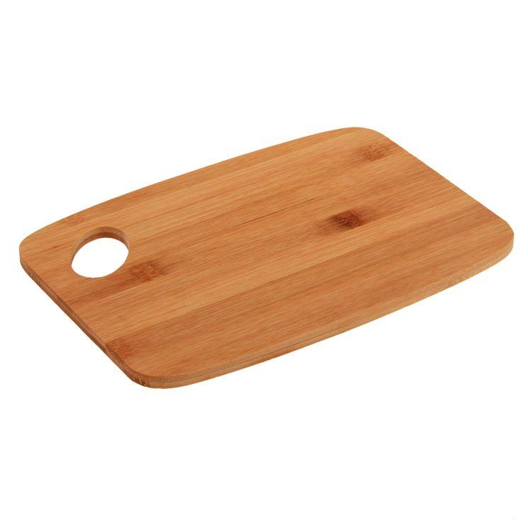 Planche à découper en bambou 26.5 x 18.5 x 1 cm - Zeller