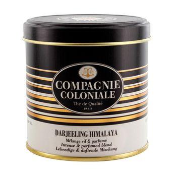 Thé noir nature Darjeeling Himalaya boîte métal   - Compagnie Coloniale