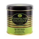Thé vert aromatisé boîte métal thé vert Sencha - Compagnie Coloniale