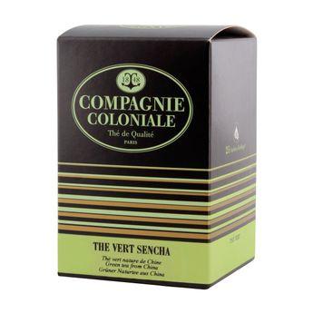 Thé vert aromatisé  25 berlingots thé vert Sencha - Compagnie Coloniale