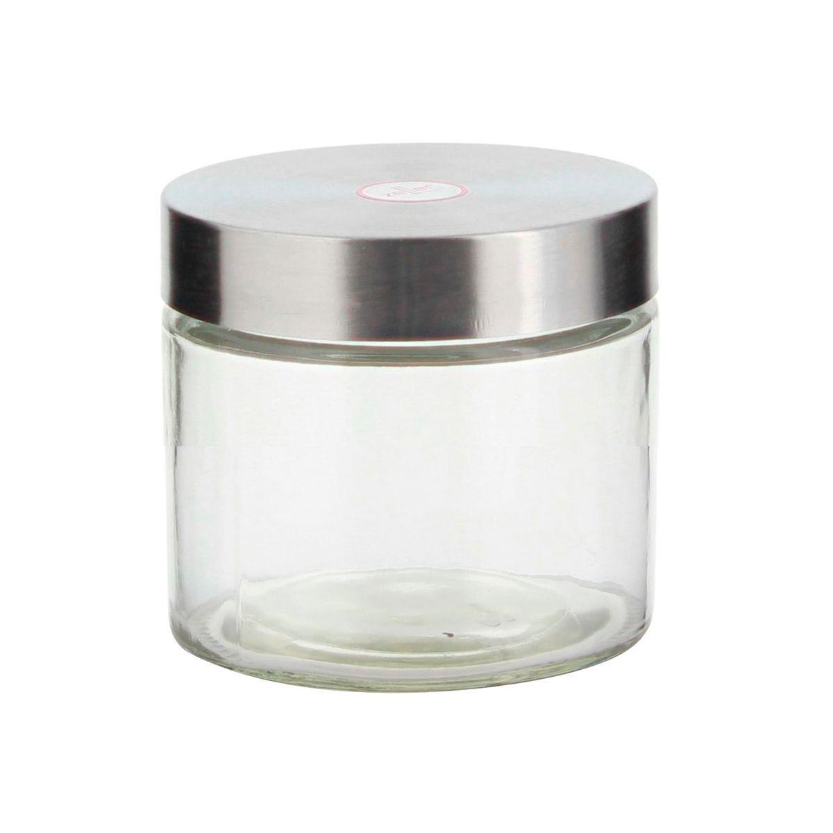 Boîte de conservation en verre avec couvercle en inox 0.75L - Zeller