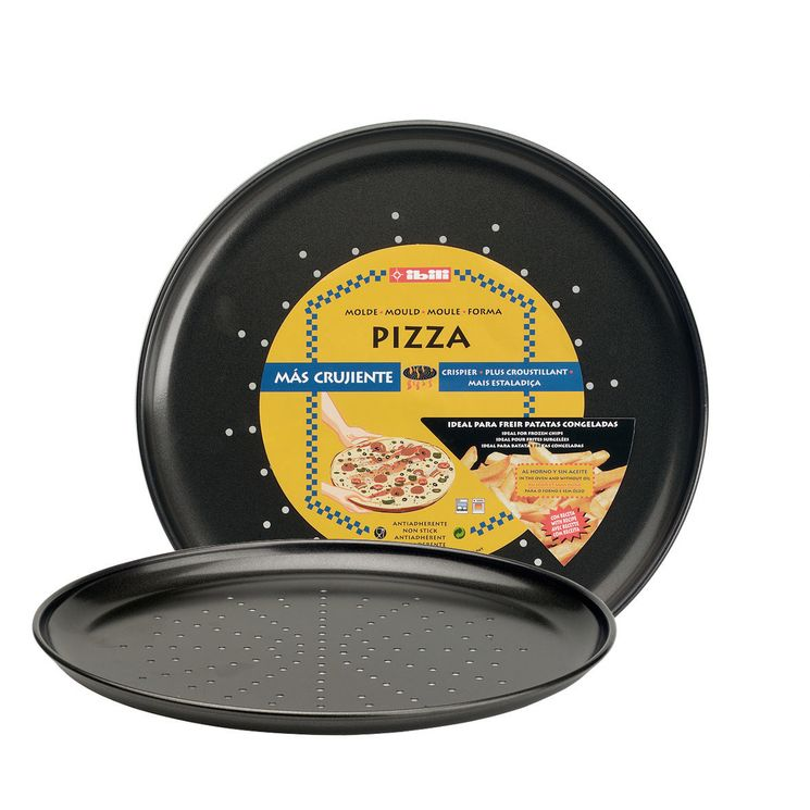 MOULE A PIZZA CRISPY MOKA 32 CM - IBILI