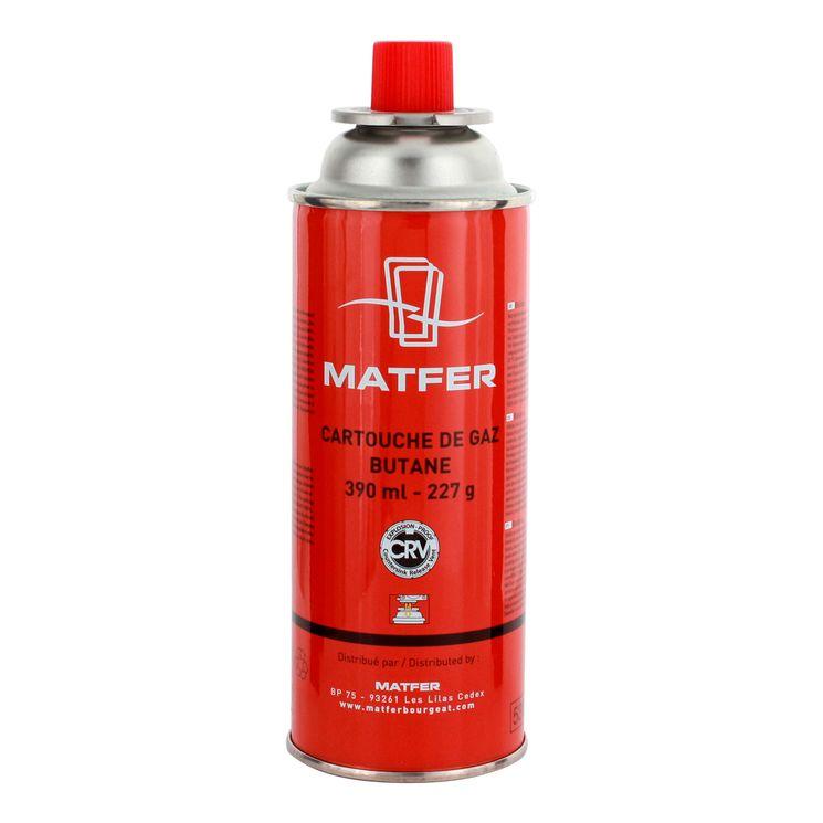 Cartouche de gaz pour chalumeau professionnel 390 ml - Matfer
