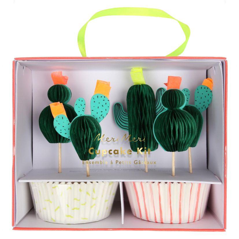 Kit cupcakes cactus - Meri Meri
