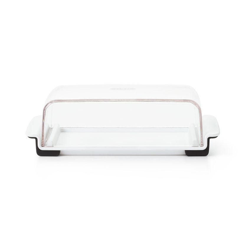 Beurrier transparent et blanc 20 cm - Oxo Good Grips