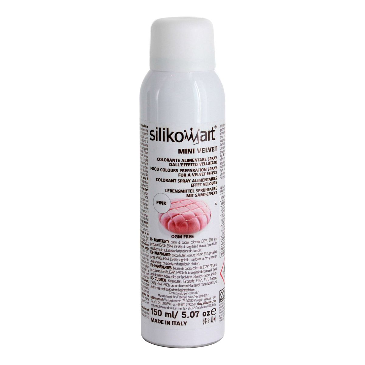 SPRAY EFFET VELOURS COLORIS ROSE 150ML - SILIKOMART
