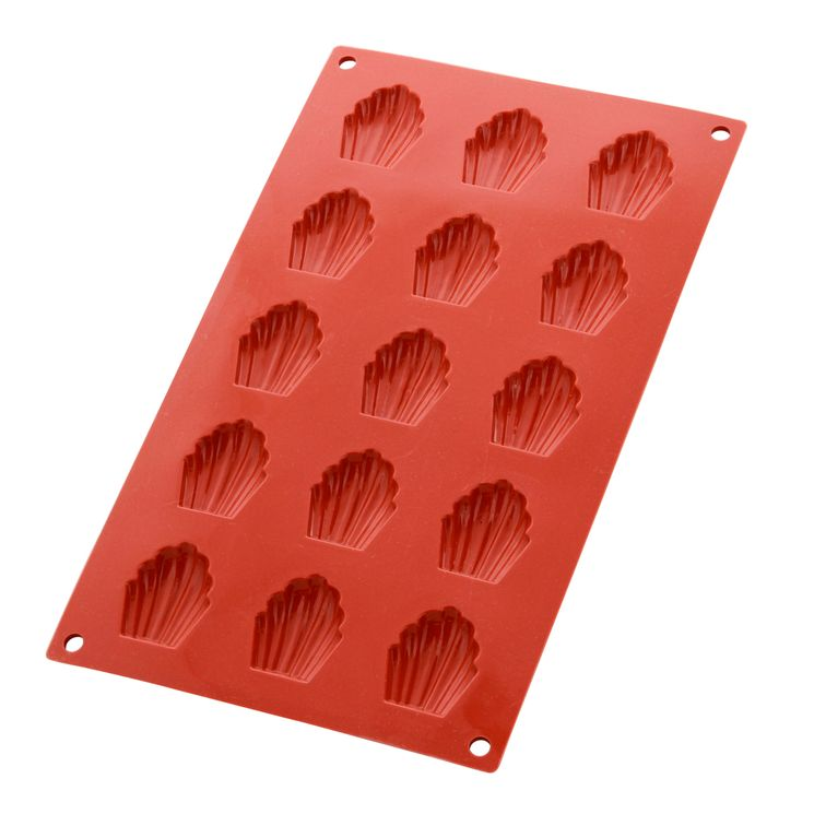 Moule en silicone 15 mini-madeleines - Silikomart