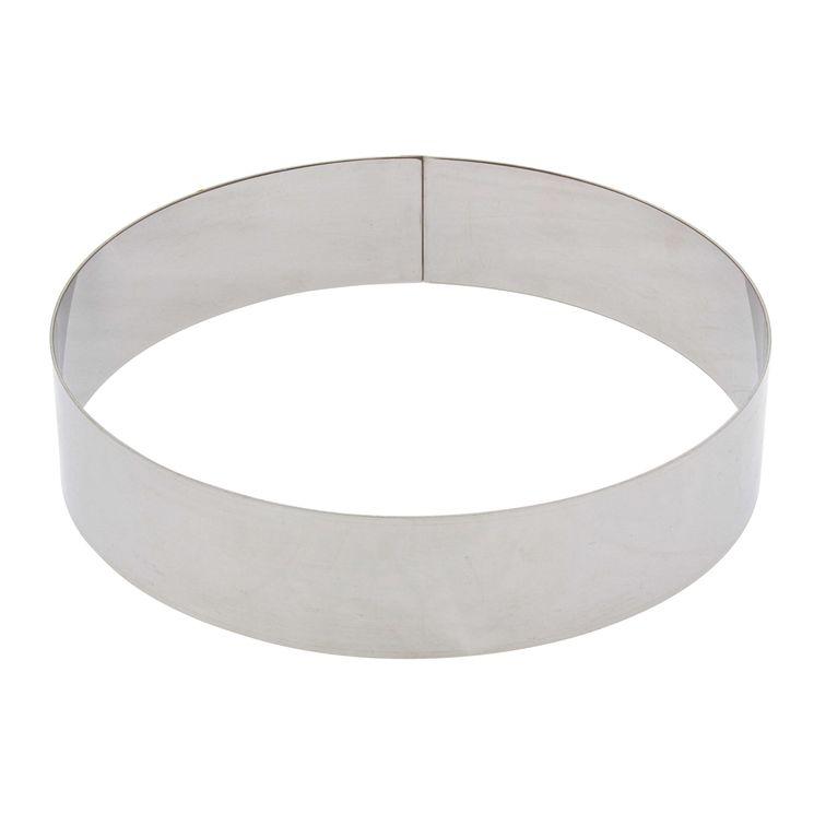 Cercle à entremets inox 16 cm - De Buyer