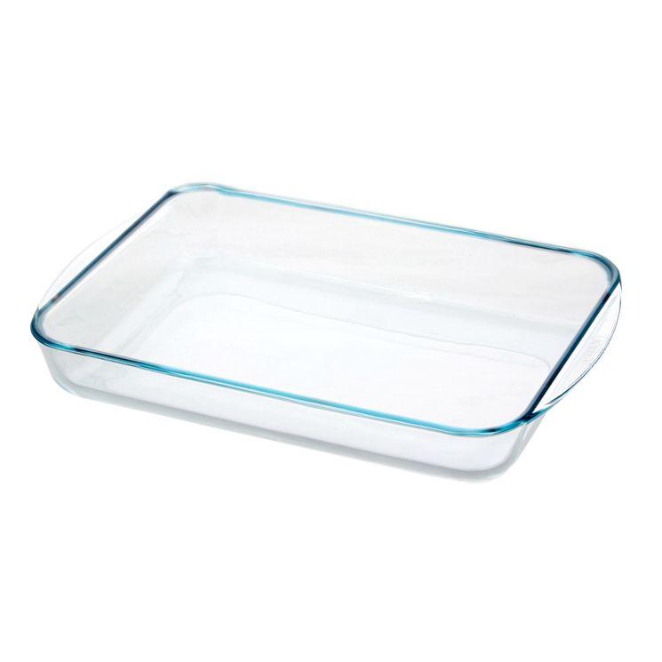 Plat à four en verre 40 x 28 cm - Pyrex