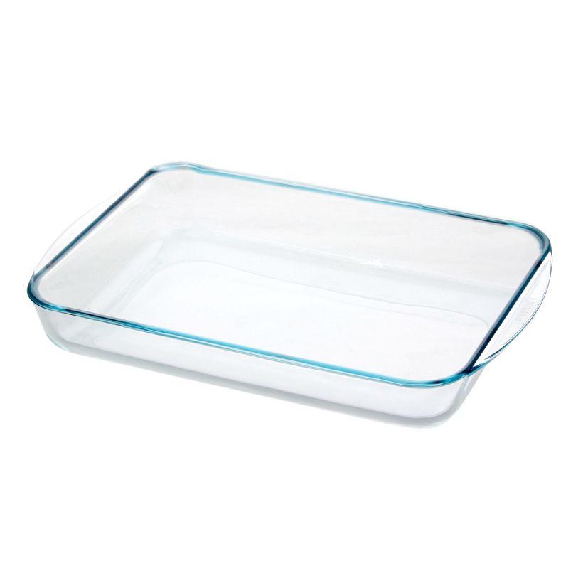 Plat à four en verre spécial lasagnes 40 x 27 cm 6/8 personnes - Pyrex